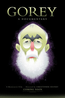 Edward Gorey Documentary Coming Soon Poster von Christopher Seufert