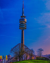 Olmpic Tower Munich by Michael Naegele