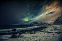 Brewing Aurora by Stein Liland