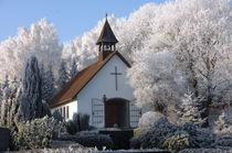 Erlöserkirche (Erlöser Kirche) im Winter von Heinrich Winkelmann