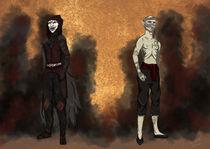 Kojima the masked von Izabelle Blåholtz