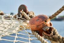 Netze und Taue an Bord von sven-fuchs-fotografie