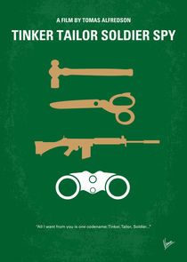 No787 My Tinker Tailor Soldier Spy minimal movie poster by chungkong