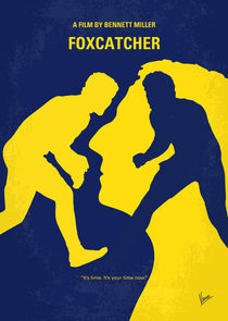 No788 My Foxcatcher minimal movie poster by chungkong