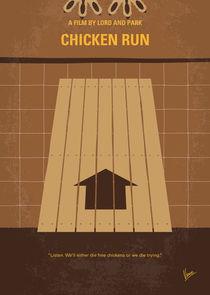 No789 My Chicken Run minimal movie poster von chungkong
