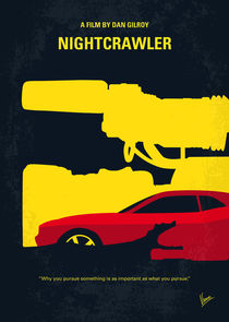 No794 My Nightcrawler minimal movie poster by chungkong