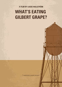 No795 My Whats Eating Gilbert Grape minimal movie poster
