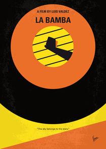 No797 My La Bamba minimal movie poster by chungkong