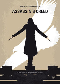 No798 My Assassins Creed minimal movie poster von chungkong