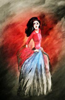 Flamenco-Tänzerin II von Vera Markgraf