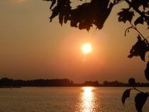Sonnenuntergang am Mandicho- See