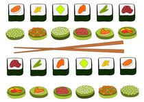 Sushi by Jutta Ehrlich
