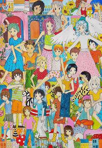 Kinder mit Fee von Viola Joisten