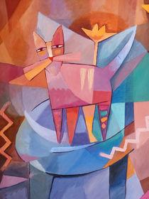 Tango Cat von arte-costa-blanca