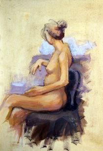 Eine Frau  von alfons niex