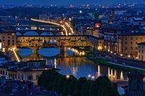 Florenz- Ponte Vecchio by Peter Bergmann