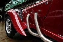 Lagonda 1936,  Lagonda LG 45 Rapide by hottehue