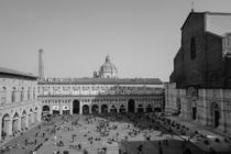 Piazza Maggiore from above by Azzurra Di Pietro