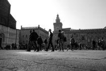 Stroll in Piazza Maggiore by Azzurra Di Pietro