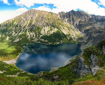 Tarn in polish Tatra mountains by Tomas Gregor
