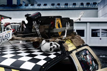 human skeleton, car tuning by hottehue