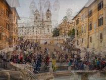 Rom an der Spanischen Treppe by blende007
