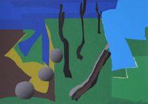 Abstraktion mit den Söhnen by art-dellas