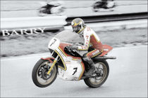 Barry Sheene 2, the hand tinted version von lesimagesdejon