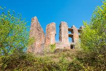 Ruine Ramburg 89 by Erhard Hess