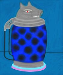 dasblaueschweinskopfglas von reniertpuah