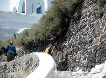 Street Santorini Island, Cyclades, Greece by Yuri Hope
