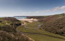 Three Cliffs Valley by Leighton Collins
