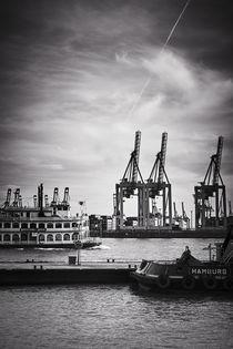 Hamburger Hafen von Maik Pötschke