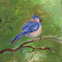 A Bird On The Tree Branch von mikart