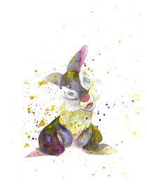 Thumper - Cartoon Character - Bambi  von mikart