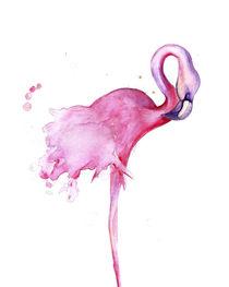 Flamingo Bird von mikart