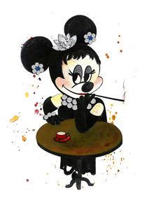 Audrey Hepburn by mikart