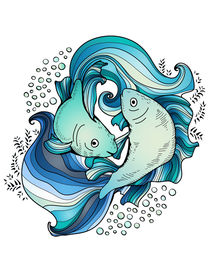 Pisces by mikart
