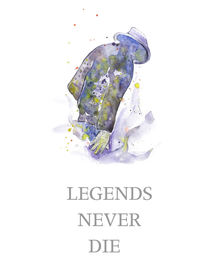LEGEND NEVER DIE _ Michael Jackson by mikart