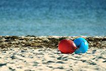 Paar am Strand von Jan Beuth