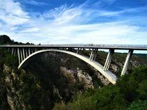 Betonbogenbrücke in Südafrika von assy