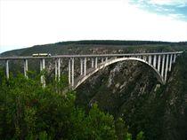 Bloukrans Bridge-Bungeejumping Brücke, die höchste Brücke Afrikas von assy