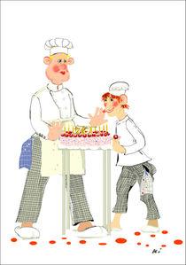 Bäcker Semmel und die Geburtstagstorte für Lehrer Krause von Kiki de Kock