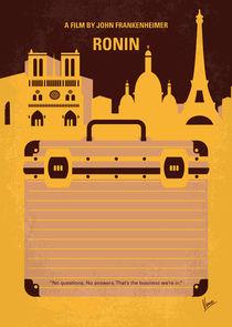 No801 My RONIN minimal movie poster