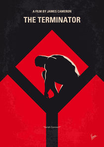 No802-1 My The Terminator 1 minimal movie poster by chungkong