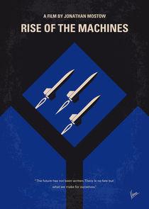 No802-3 My The Terminator 3 minimal movie poster von chungkong