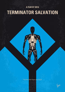No802-4 My The Terminator 4 minimal movie poster von chungkong