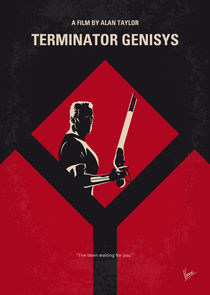 No802-5 My The Terminator 5 minimal movie poster by chungkong