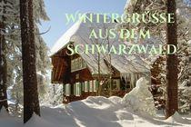 Wintergrüße aus dem Schwarzwald von vibrantbooks
