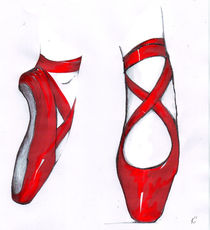 red shoes von Kiki de Kock